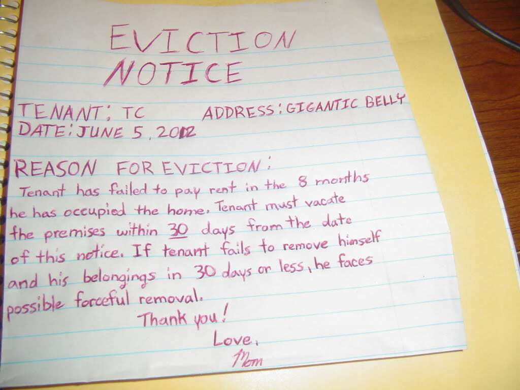 7+ Eviction notice Templates