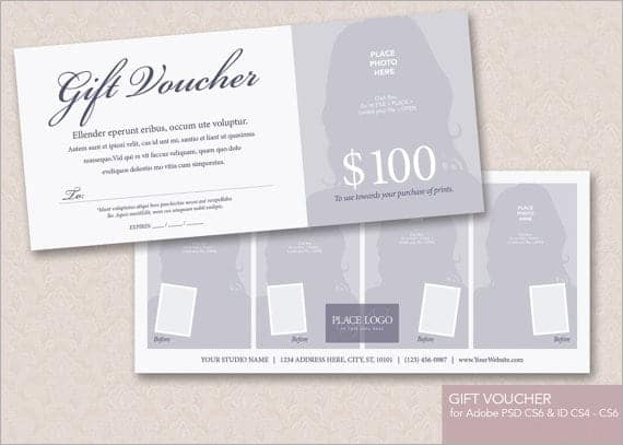 8+ Gift voucher templates - Word Excel PDF Formats