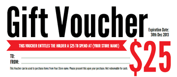 8+ Gift voucher templates