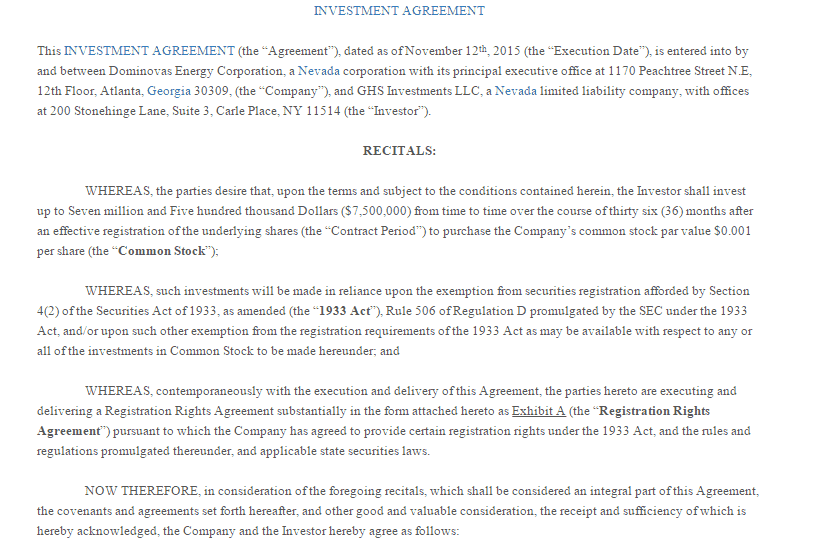 5+ Investment Contract Templates
