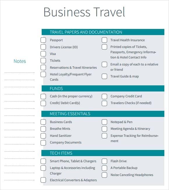 12+ Itinerary Templates