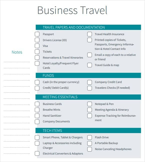 Free Itinerary Template Archives Word Templates