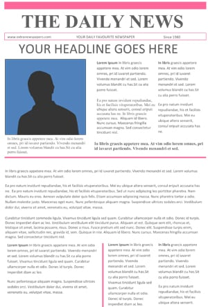 News Article Format Template. 25 best newspaper article template ...