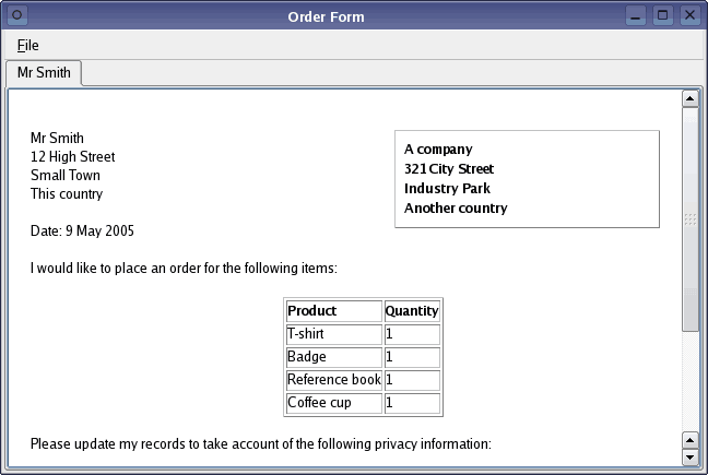 order form image 11