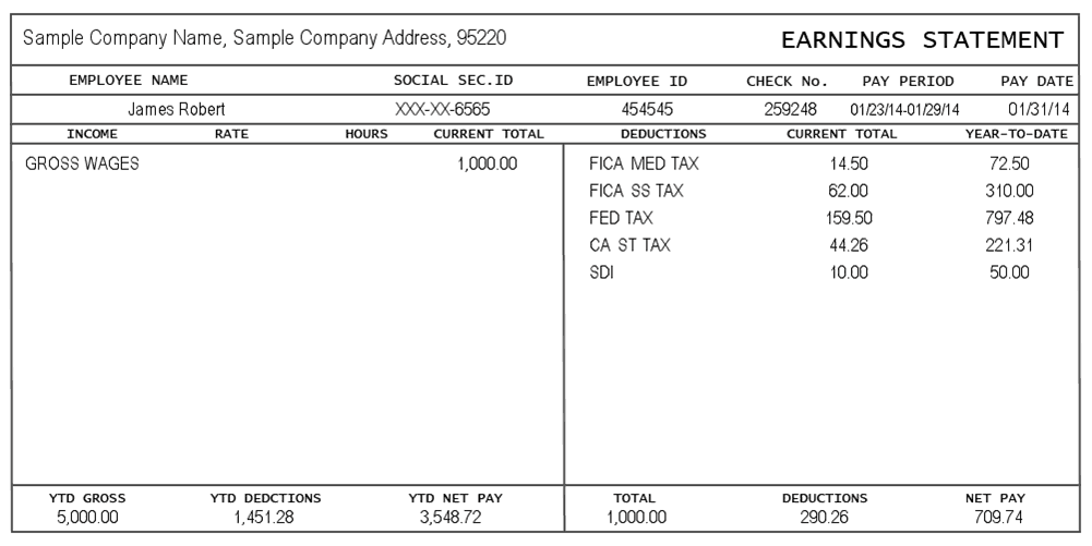 pay stub image 4