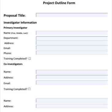 project outline template microsoft word - project outline template in pdf archives word templates