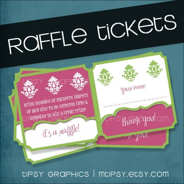 7+ Raffle Ticket Templates