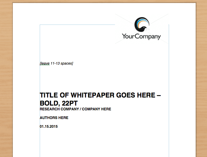 8 white paper design templates word excel pdf formats