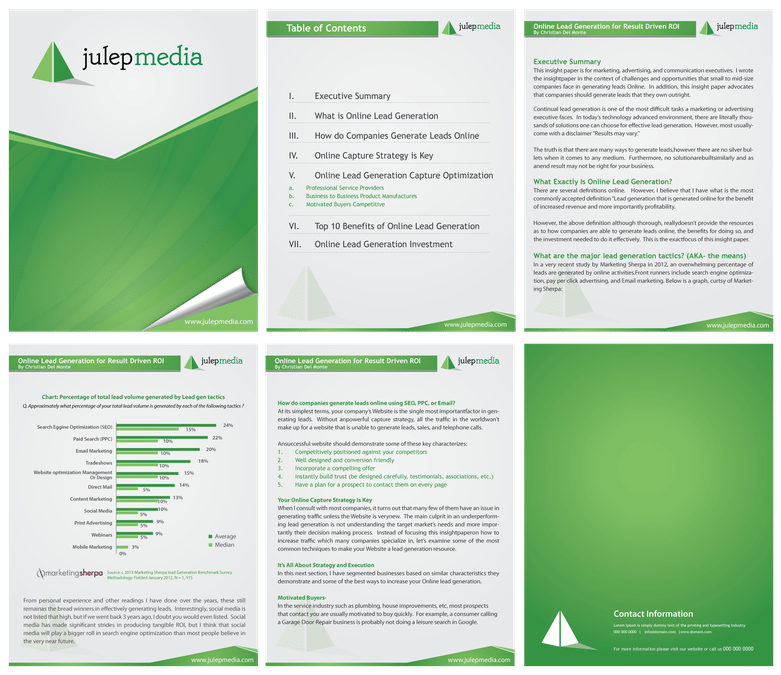 8+ White paper design templates - Word Excel PDF Formats