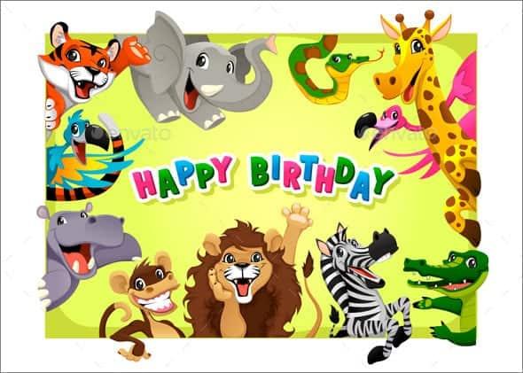 birthday card tenplate 2