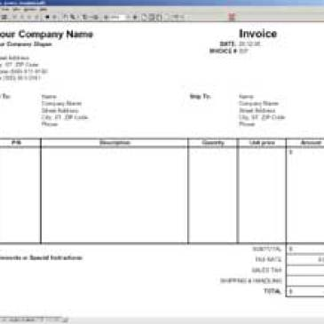 Vendor Invoice Template Archives Word Templates - Vendor invoice template
