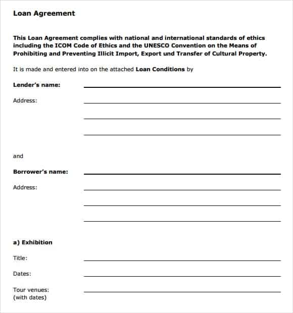 loan agreement template 15