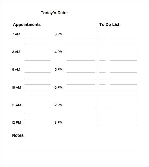 meeting agenda template 11