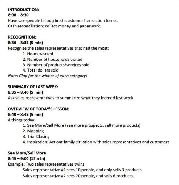 meeting agenda template 7