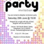 9+ Party Invitation Templates