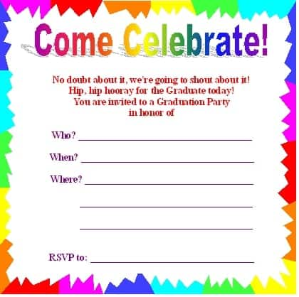 9 Party Invitation Templates Word Excel PDF Formats – Party Invitation Template Word