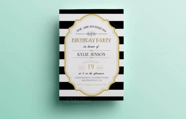 party invitation template 7