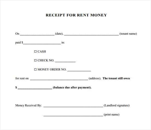 rent receipt 5