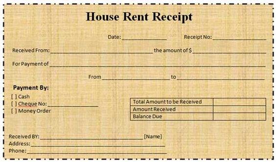 rent receipt 9