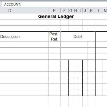 9 general ledger templates