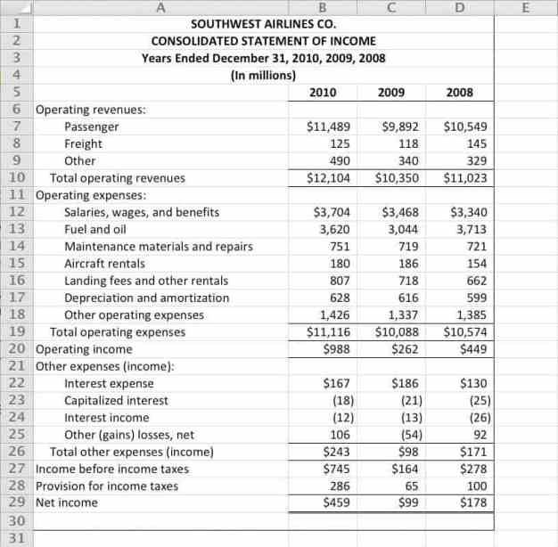 income statement template 87410.