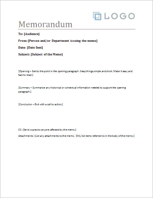 memo template 451