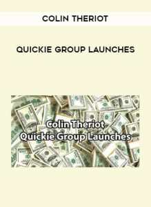 Read more about the article Colin Theriot – Quickie Group Launches