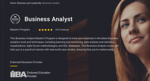 Read more about the article SimpliLearn – Business Analyst