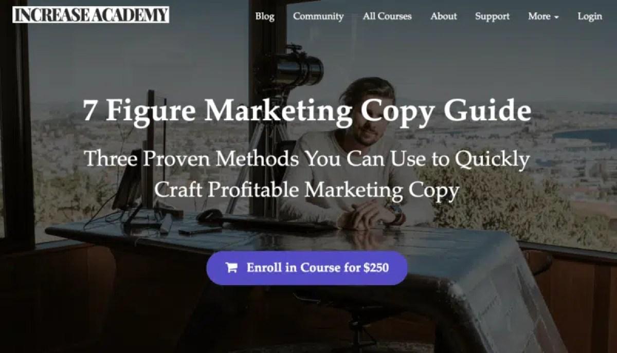 Sean Vosler – 7 Figure Marketing Copy Guide