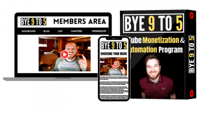 Read more about the article Jordan Mackey – Youtube Monetization and Automation Program 2020