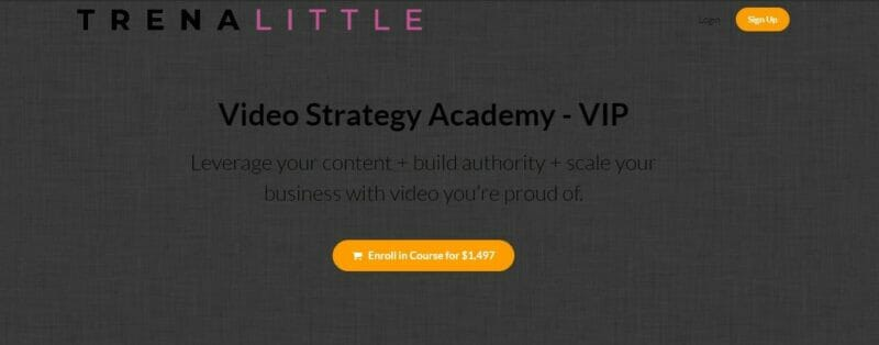 Read more about the article Trena Little – Video Strategy Academy