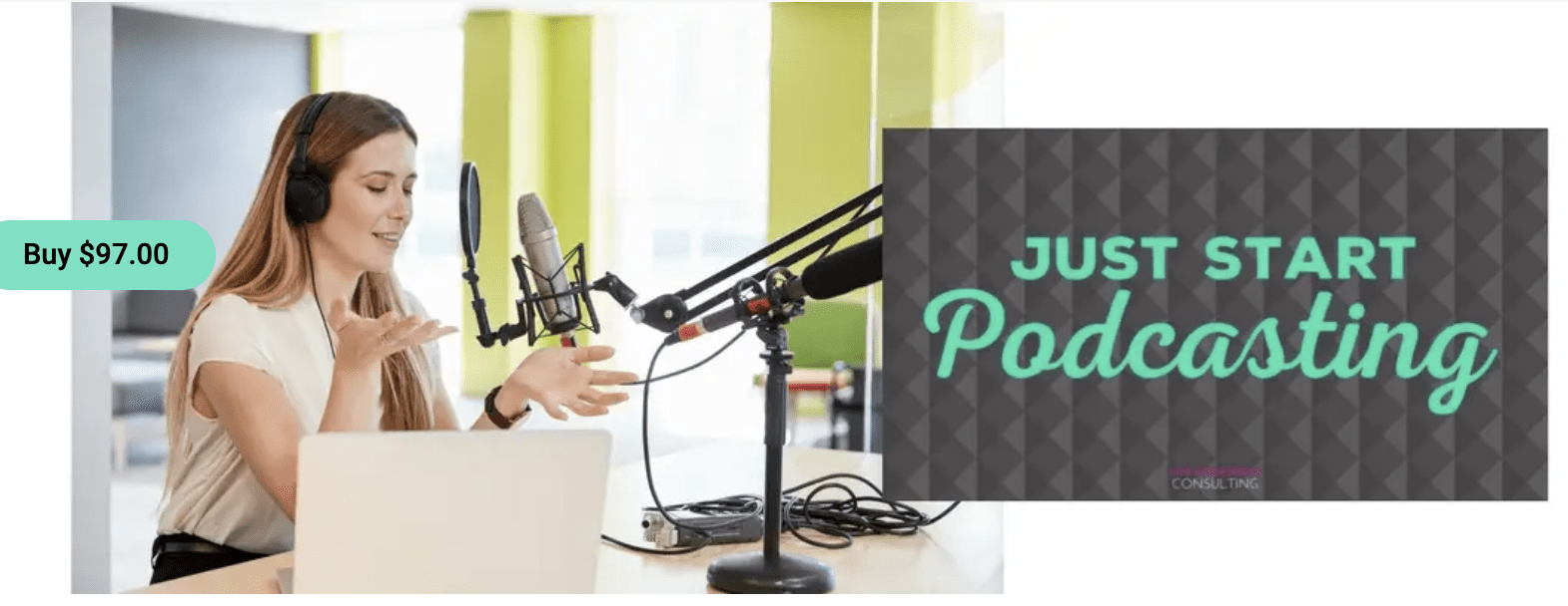 Read more about the article Kim Anderson – Just Start Podcasting
