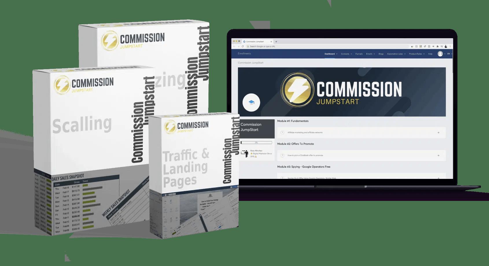 Ross Minchev – Commission JumpStart - GETWSODO