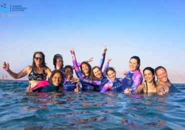מחנה אימונים לנשות הקייט סרפינג KB4Girls Israeli Chapter