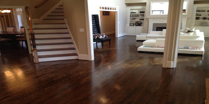 Restain Hardwood Floors