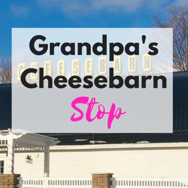 Visiting Ohio why not check out Grandpa's Cheesebarn. The food is great and the people are sweet!