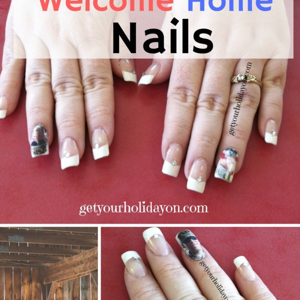 Personalized Welcome Home Nails