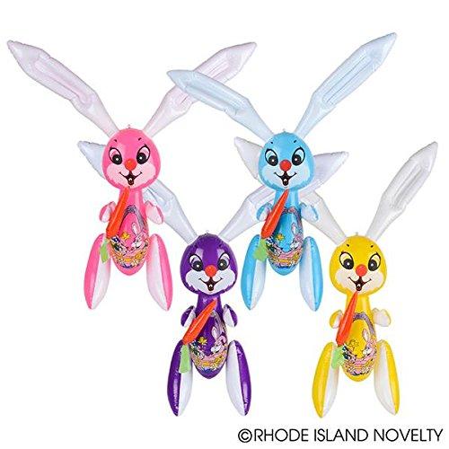 Easter Jumbo Inflatable Easter Bunny Inflates