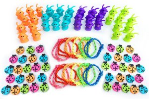 What you need to fill your eggs Assortment of Small Toys and Goodies for Easter Egg Stuffers, Egg Fillers, Kids Easter Egg Hunt Basket Supplies and Carnival Prizes - Surprise Kids with Bulk Mini Toys to Fill Plastic Eggs