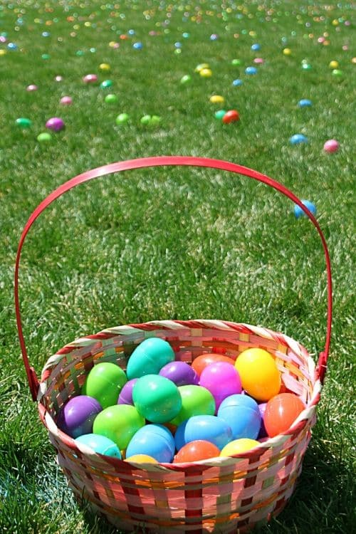 Learn more about the making Easter traditions with your children inside and outside.