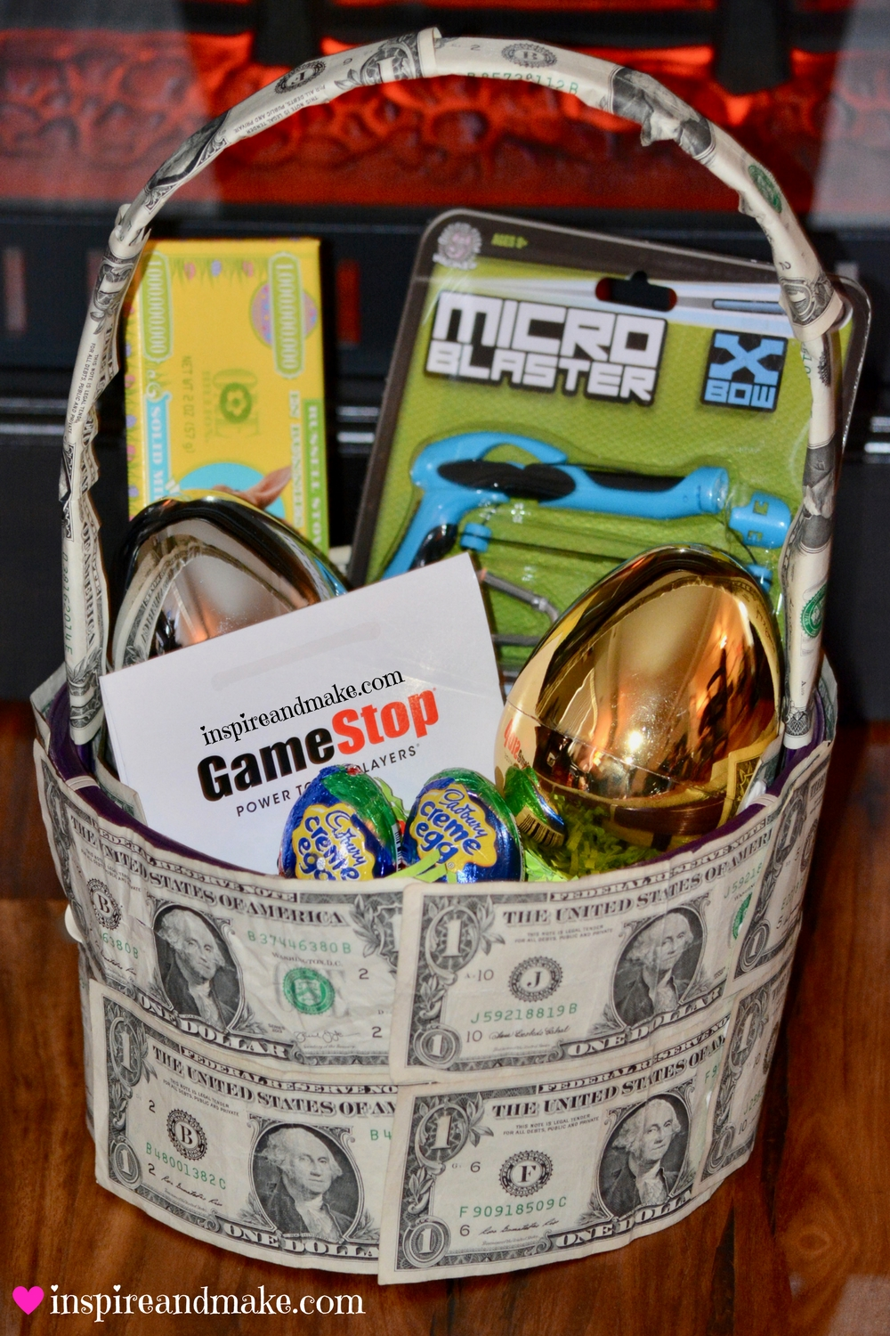 How To Create A Money Gift Basket Perfect For A Creative