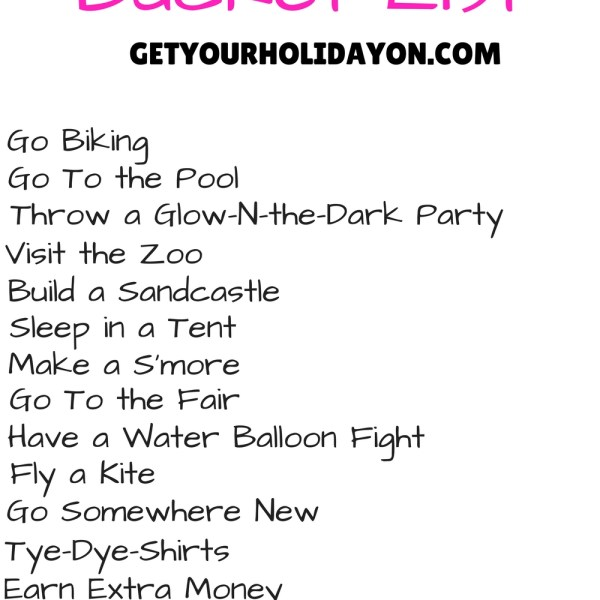59 Summer Bucket List Ideas You Don&#821...