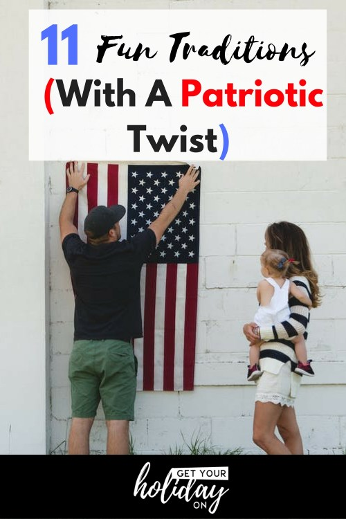 How cool would it be to have a fun tradition (with a patriotic twist) that you could start with your family? A tradition that will be passed down from generation to generation.