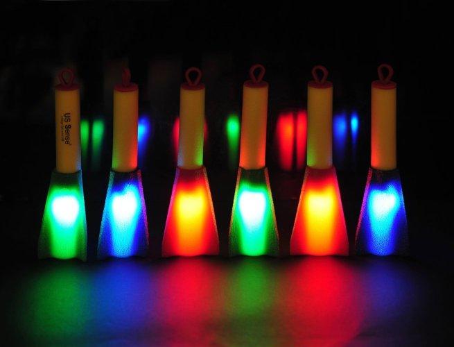 LED Foam Finger Pump Rockets Slingshot