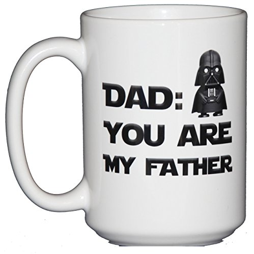 Dad - You Are My Father Starwars Fathers day cup.