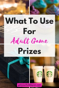 What To Use For Adult Game Prizes