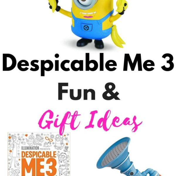 Lets Get Our Despicable Me 3 Fun On!