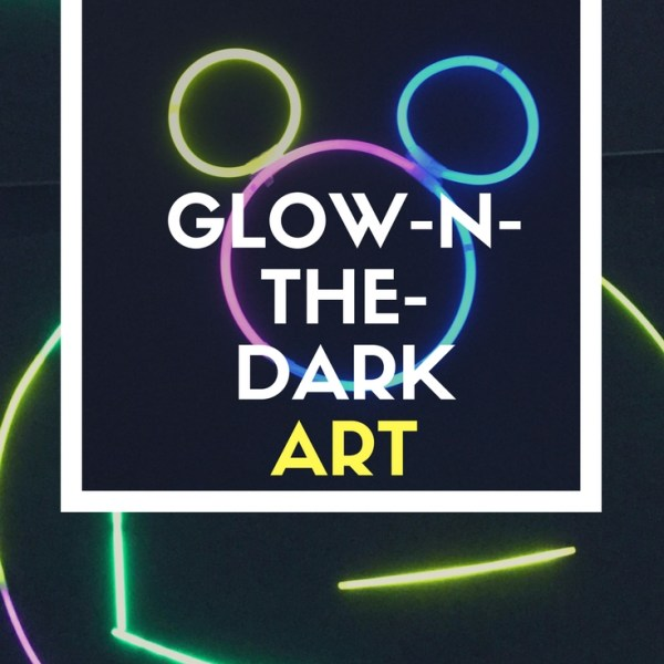 Glow in the Dark Fun Art For Kids