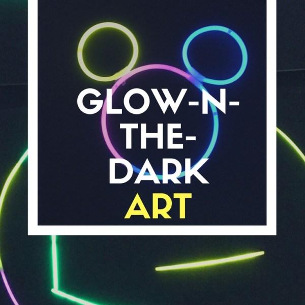 Glow in the Dark Fun Art For Kids