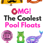 Okay you guys, have you seen these pool floats yet?! These are the coolest looking pool floats that I've seen this summer. These make me want to build an inground pool. I think these pool floats will be a lot of fun at the pool, in a lake, or at the beach. The best part about it is it fits people's personalities and they just make you want to have fun!